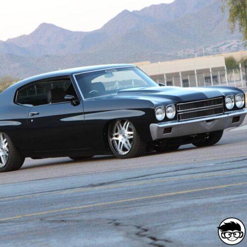Hot Wheels '70 Chevy Chevelle Nightburnerz real