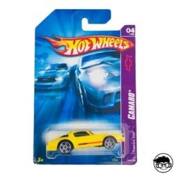 Hot Wheels Camaro Z-28 Camaro 044 180 2007 long card