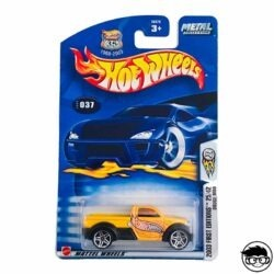 Hot Wheels Dodge M80 First Editions Collector no. 037 2003 long card