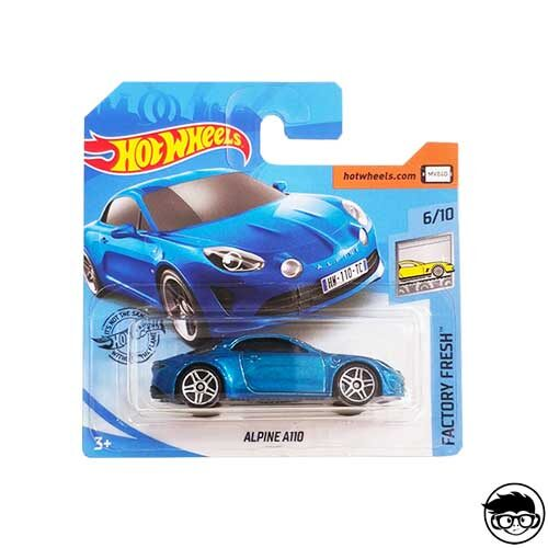 Hot Wheels Alpine A110 Factory Fresh 238/250 2019 short card