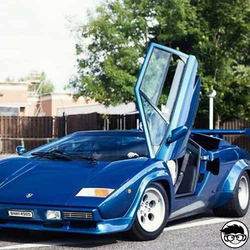Hot Wheels Lamborghini Countach Collector Nº 130 2001 long card