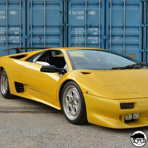Matchbox Lamborghini Diablo MB-49 1993 short card