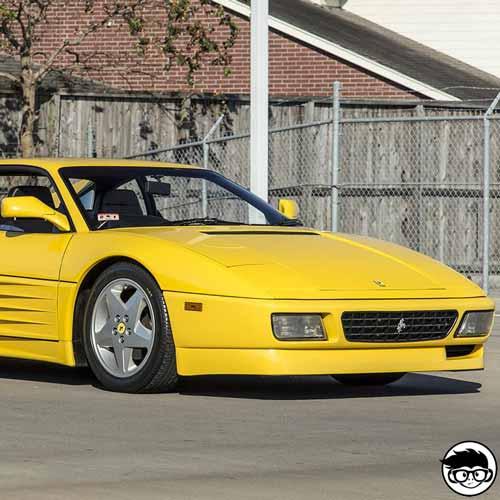 Hot Wheels Ferrari 348 2002 Collector nº 137 long card