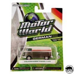greenlight-motor-world-german-volkswagen-panel-van-card