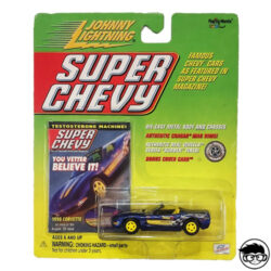 JHONNY-LIGHTNING-SUPER-CHEVY-1998-CORVETTE-LONG-CARD