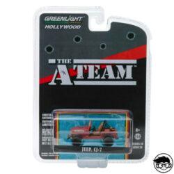 greenlight-a-team-jeep-c7-card