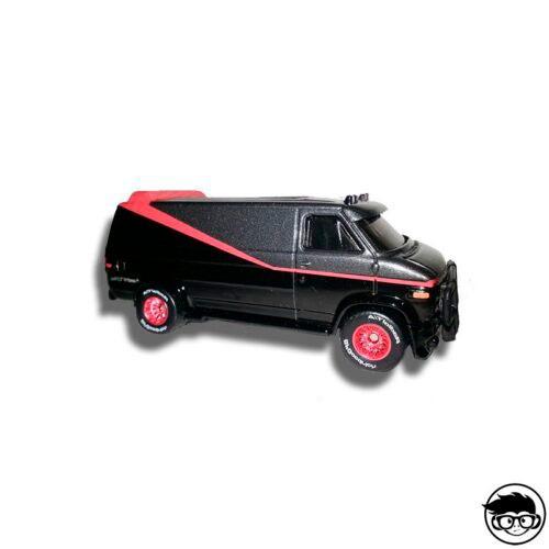 Hot Wheels The A Team Custom GMC Panel Van 2013 Retro Entertainment