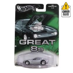 Hot-Wheels-C6-Corvette-1/4-Great-8s-2004