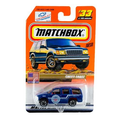 Matchbox-Chevy-Tahoe-Police-33/100-USA-2000