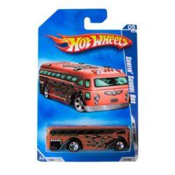 Hot-Wheels-Surfin-Bus-School-5/10-Hw-City-Works-111/190-2009