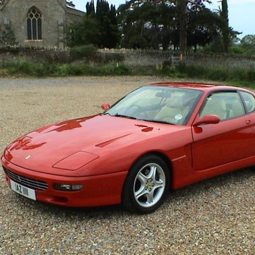 Majorette Ferrari 456GT Super S 1995 long card
