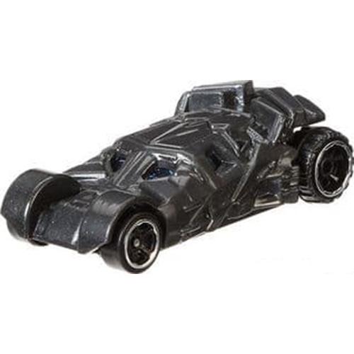 Hot Wheels Batman Begins Batmobile Long Card 2006